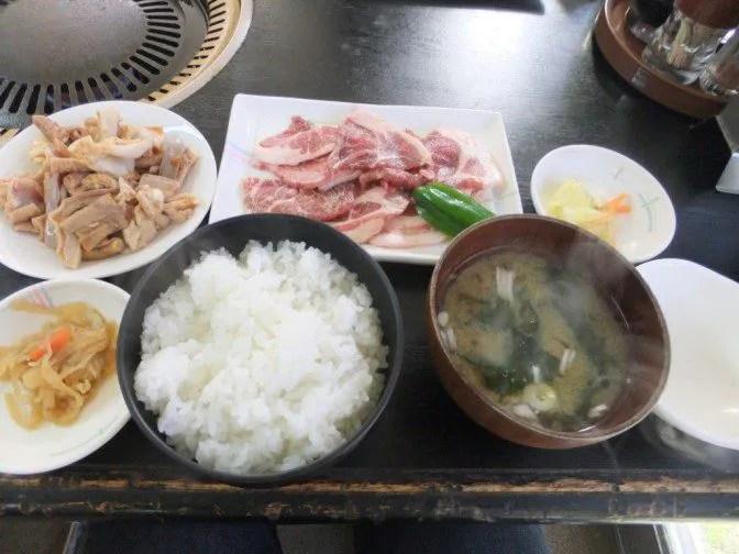ダブル焼き肉定食