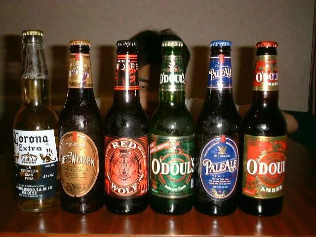 アメリカの地ビール各種