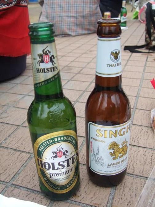 タイとドイツのビール