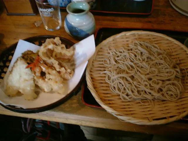 江戸、天ぷら