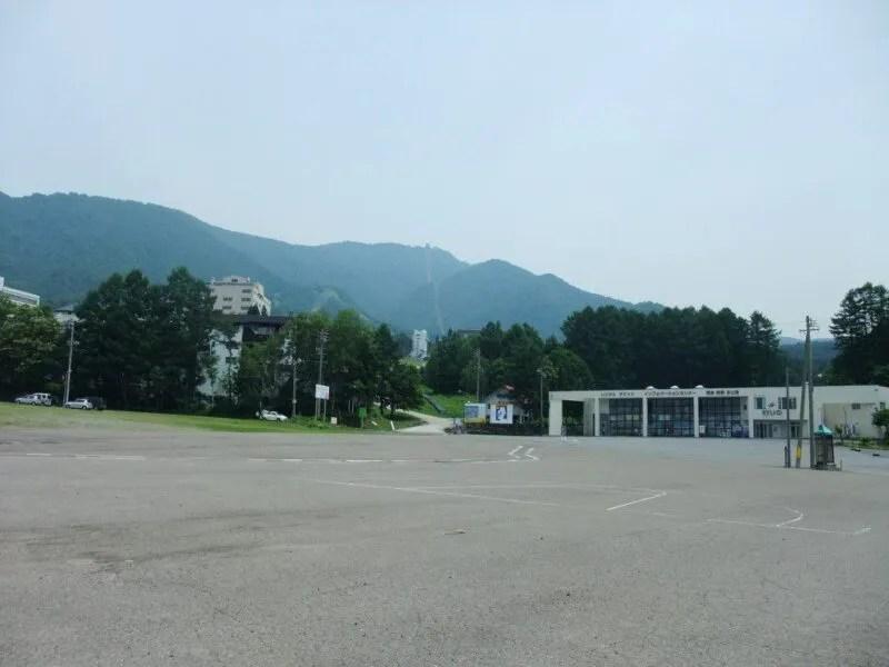 竜王スキー場駐車場