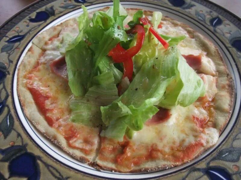 高原野菜のピッツァ