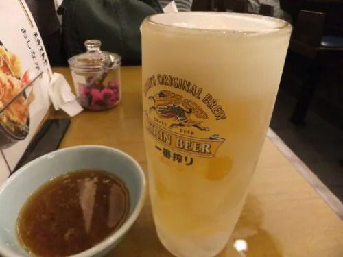 生ビール追加