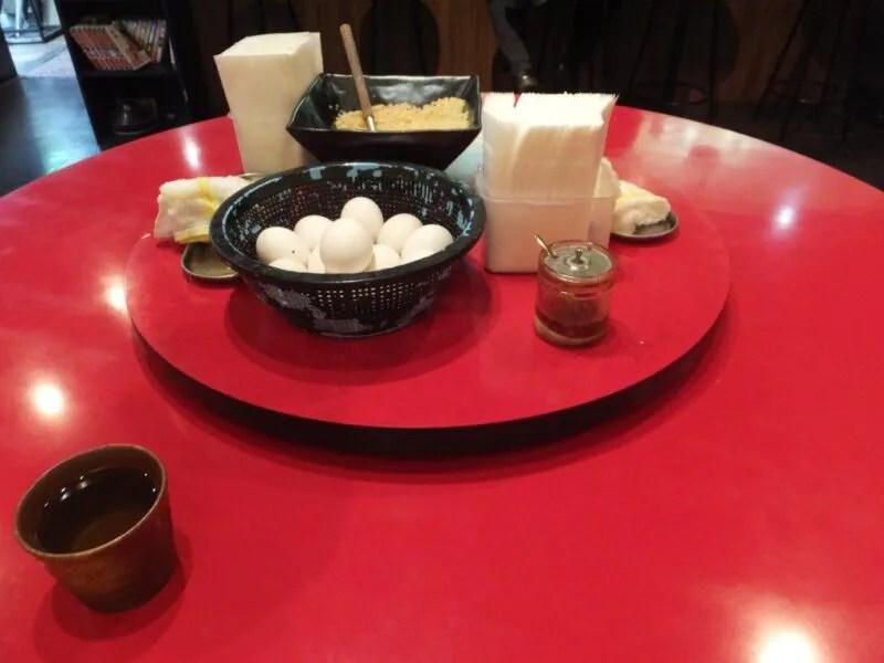 中華の円卓