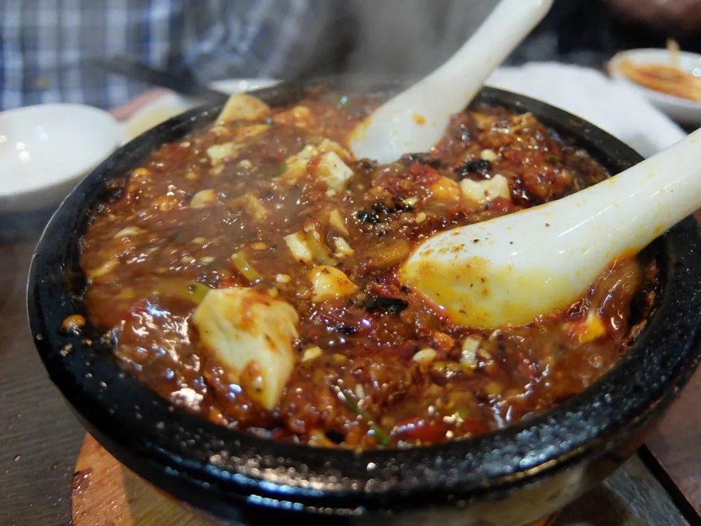 頂天石鍋麻婆豆腐