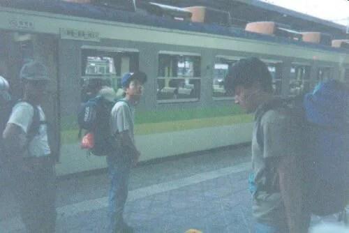 早朝の新潟駅