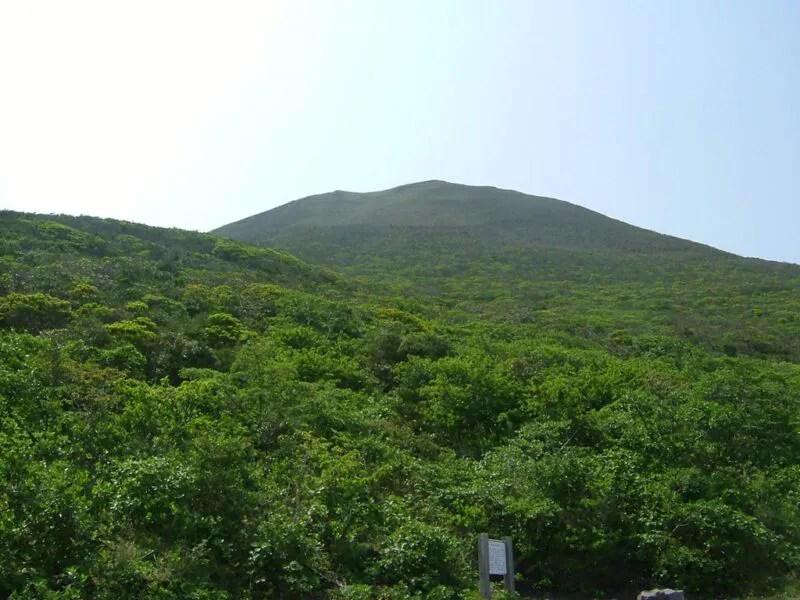 八丈富士登山口へ