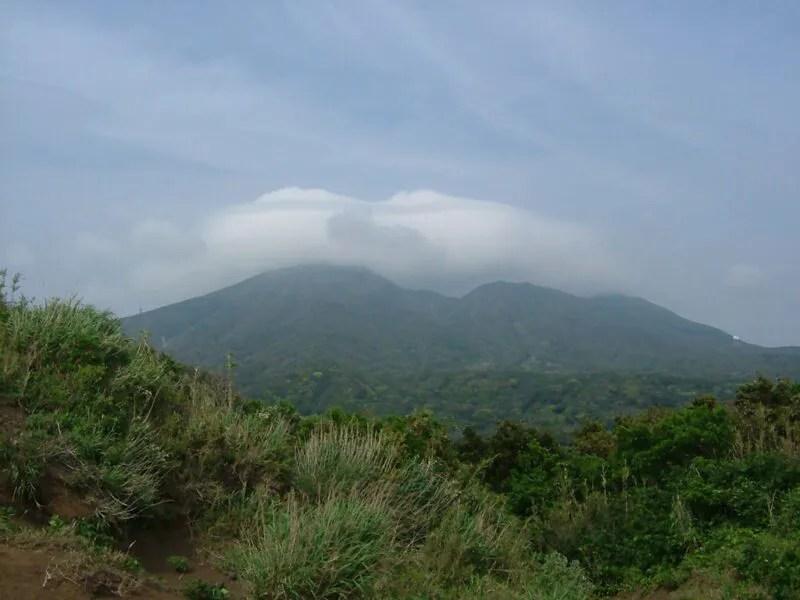 三原山の勇姿