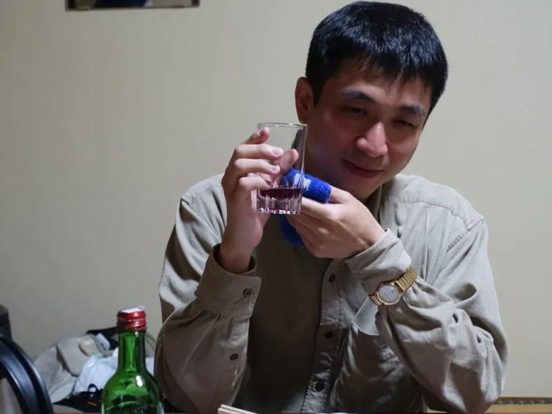 ノンアルコールワインを飲む蛋白質