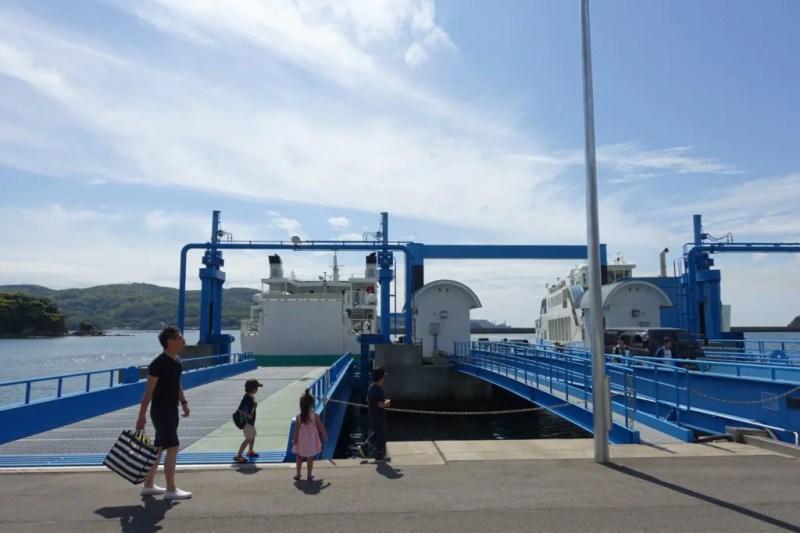 瀬戸港桟橋