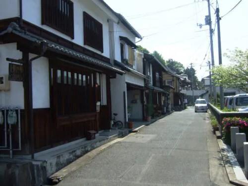 74番甲山寺への道