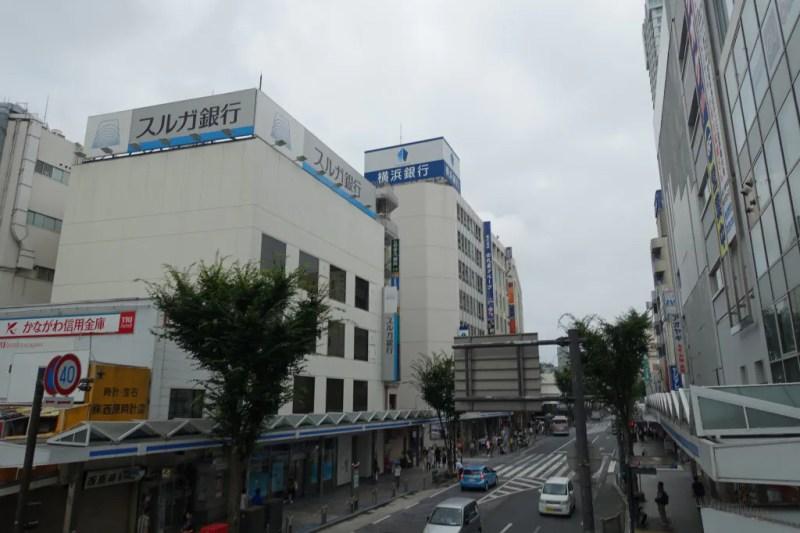 曇天の横須賀