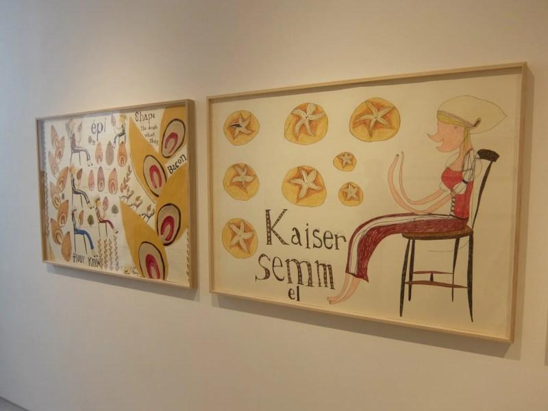 三宅信太郎展「Sitting on a Chair, Eating Bread」