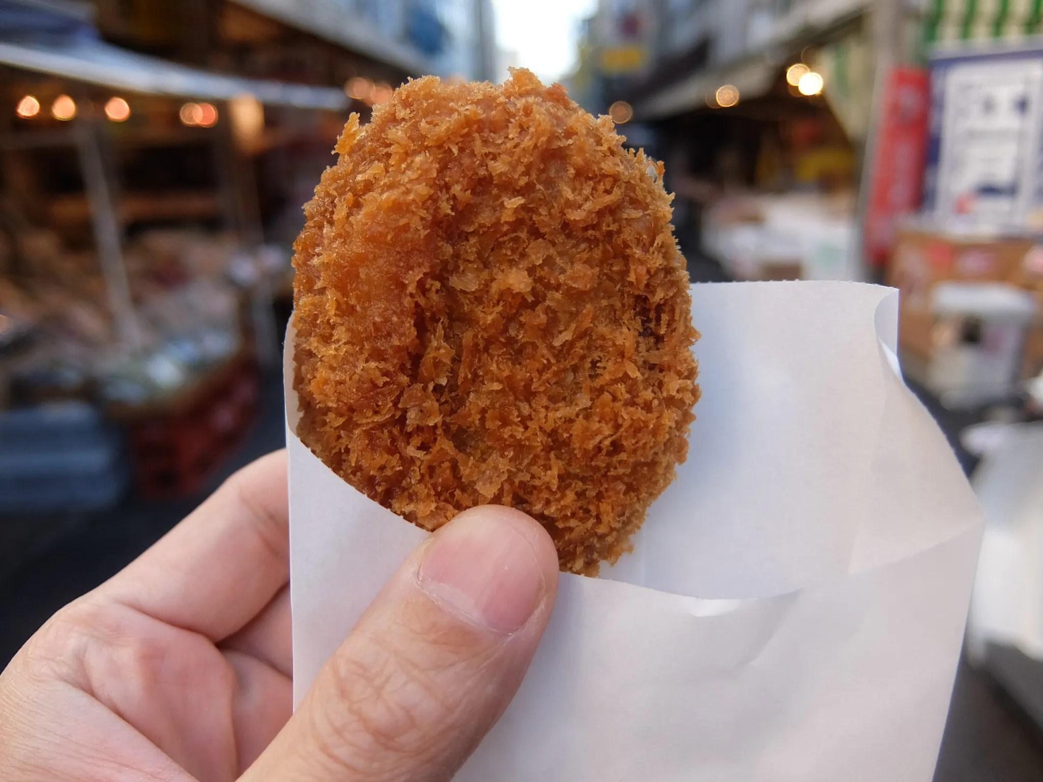 松阪牛メンチカツ