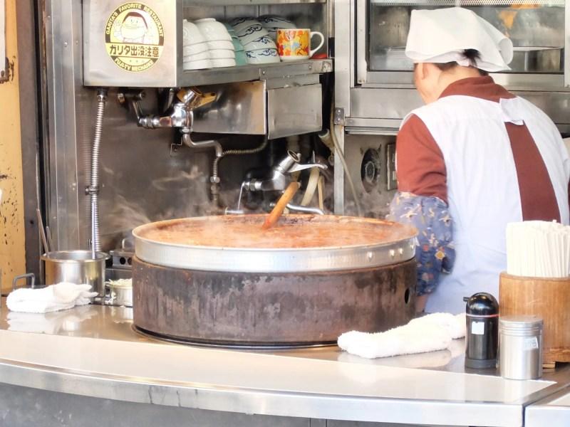 きつねやの大鍋