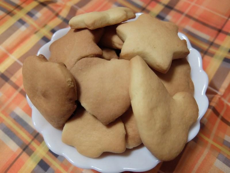 不揃いのクッキー