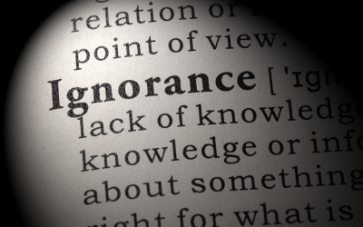 Ignorance: We Don't Know What We Don't Know