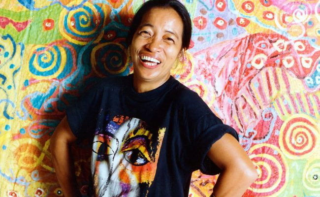 Pacita Abad Archives Of Women Artists Research And