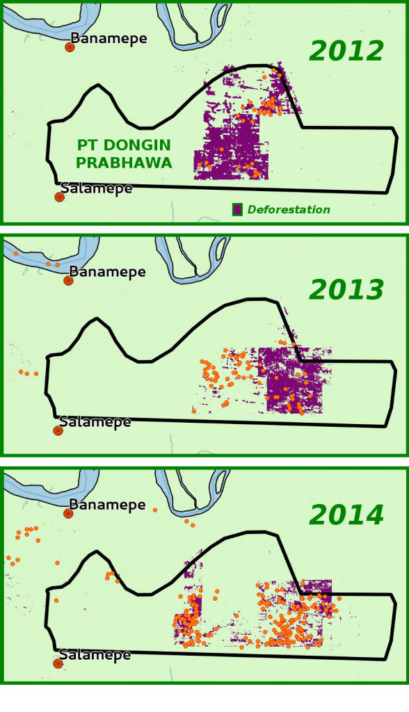 PT Dongin Prabhawa 2012-2014