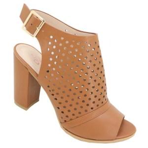 Dolce Vita Punch hole sandal Tan
