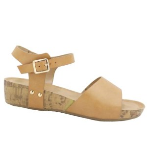 Buckle Ankle Strap Flat Sandals AWA Wholesale