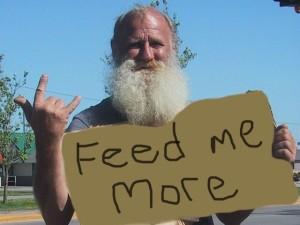 Homeless-Feed-me-more