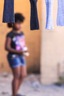 Drying laundry in Langa