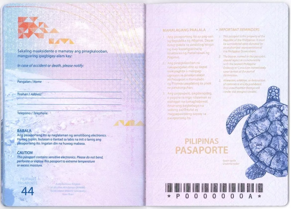 passport philipines 2 - World's Most Coolest Passports