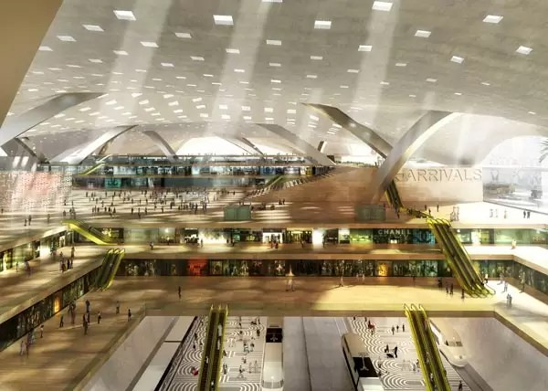 doha airport - Most beautiful airports in the world