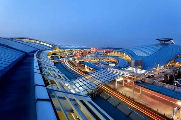 incheon airport1 - Most beautiful airports in the world