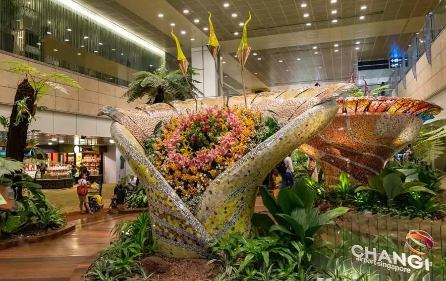 singapore changi airport - Most beautiful airports in the world