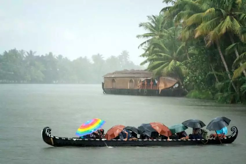 Kerala monsoon rain - Pros and Cons of traveling to India during monsoon season