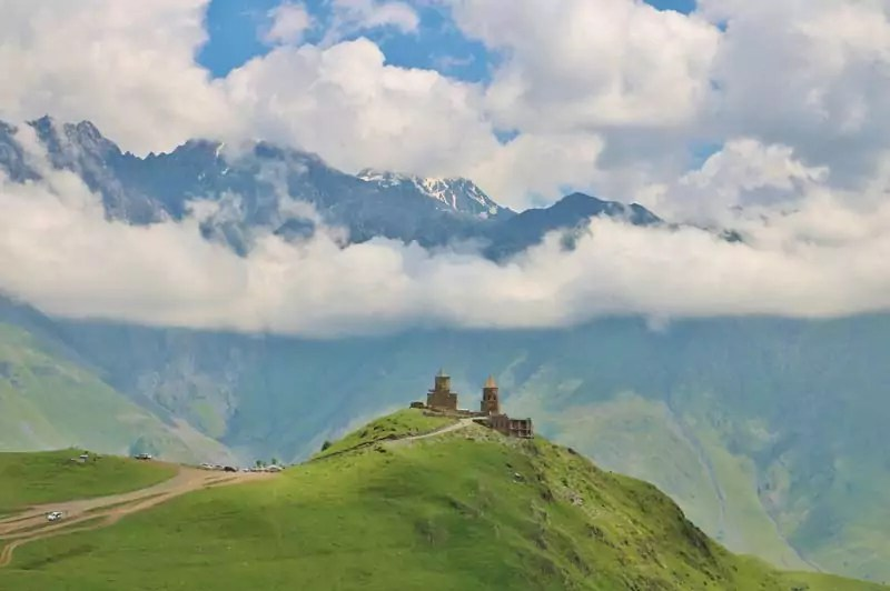 Mount Kazbegi - 8 Tourist Spots in Georgia that you Should Never Miss