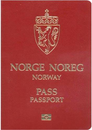 norway passport - World's Most Coolest Passports