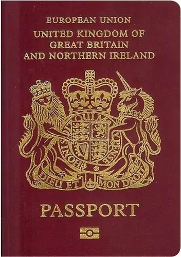 unitedkingdom passport - World's Most Coolest Passports