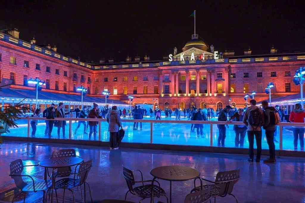 Ice Skating At Somerset House 1 - Beautiful Places Of London To Visit In Winter