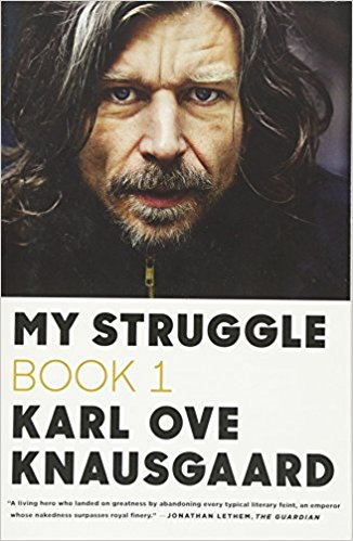 My Struggle book cover by Karl Ove Knausgaard