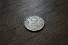 Back of 5 Forint coin