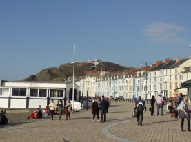 Constitution Hill from the beach.