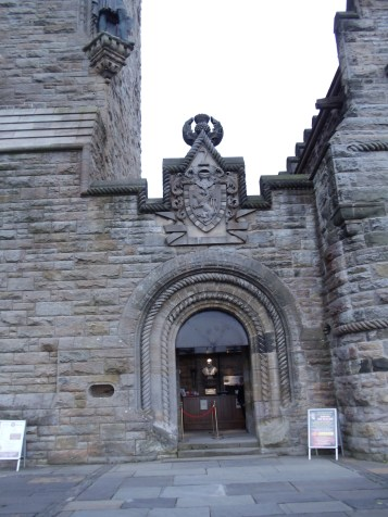 The front entrance.