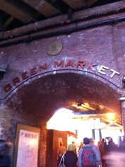 One of the areas of the market.