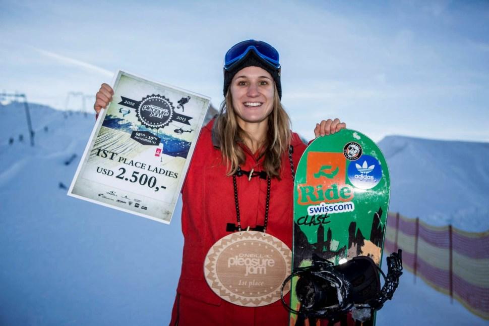 Isabel Derungs wins 1st place