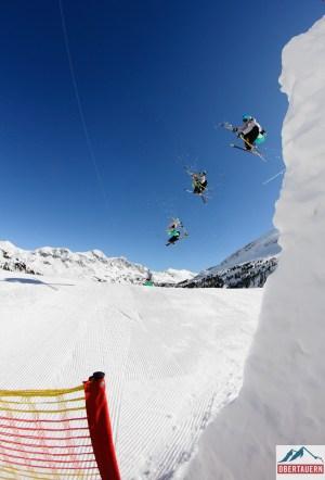 Obertauern shoot big kicker