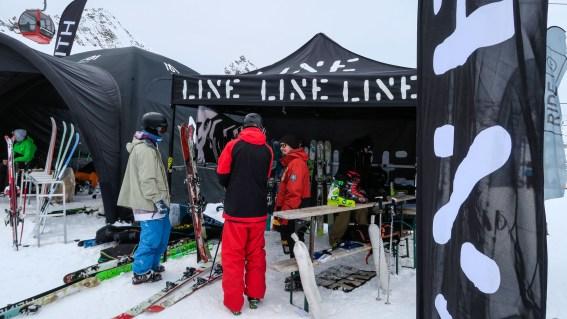 Line again gave us skis