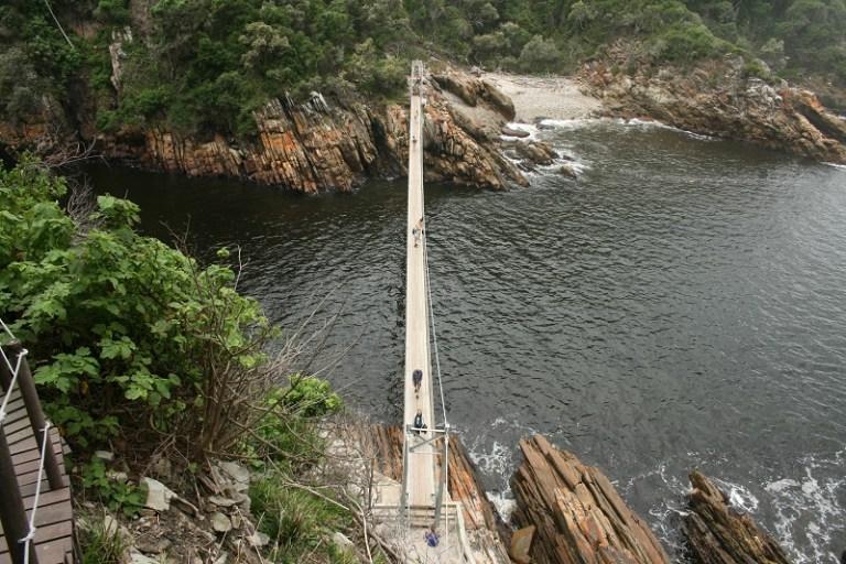 Kapstadt Garden Route Storms River Hängebrücke @awayonwheels