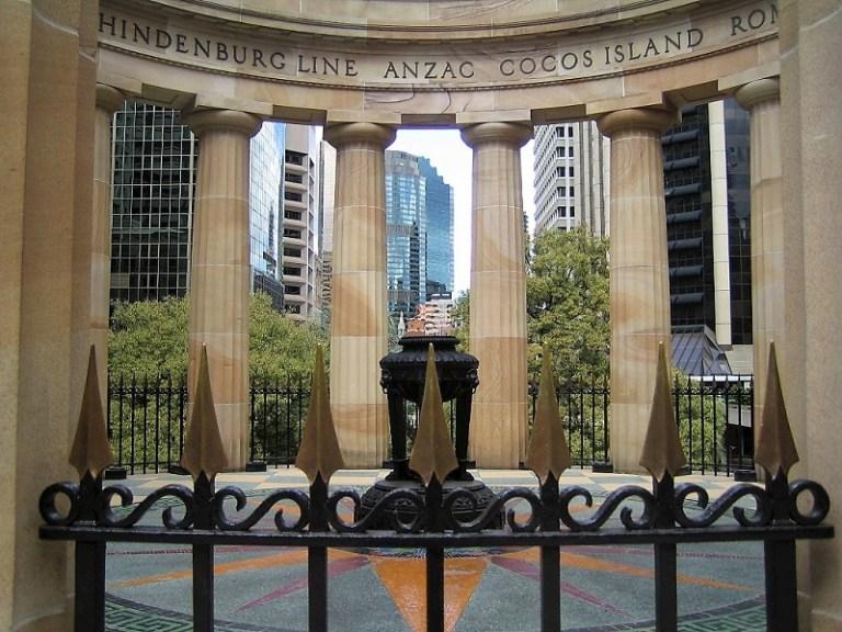Brisbane Tipps Anzac Square
