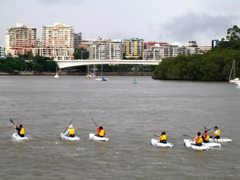 Brisbane Tipps Kayaken