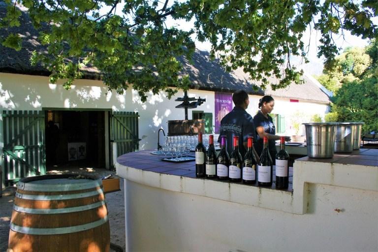 Weinregion Boschendal Weinprobe@awayonwheels