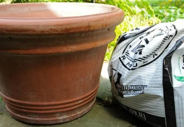 Soil saving tricks for planting big pots a way to garden potting soil and pot workwithnaturefo