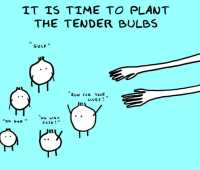 doodle by andre: love me tender, say the bulbs